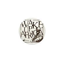 Garvey Wake Up Africa... Mini Button
