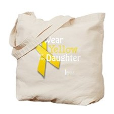 trans_i_wear_yellow_for_my_daughter_updat Tote Bag