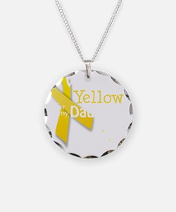 trans_i_wear_yellow_for_my_d Necklace