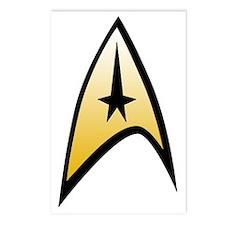 Star Trek Insignia Postcards (Package of 8)