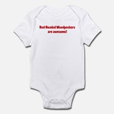 Red-Headed Woodpeckers are aw Infant Bodysuit