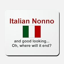 Italian Nonno-Good Lkg Mousepad