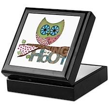 Scrapbooking is a Hoot! Featuring Owl Keepsake Box