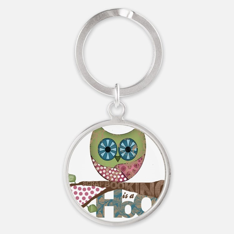 Scrapbooking is a Hoot! Featuring O Round Keychain