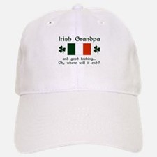 Gd Lkg Irish Grandpa Baseball Baseball Cap