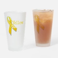 trans_i_wear_yellow_for_my_dad_upda Drinking Glass
