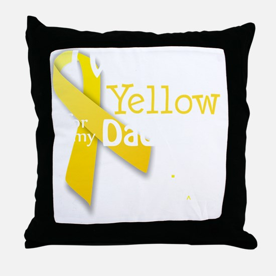 trans_i_wear_yellow_for_my_dad_update Throw Pillow