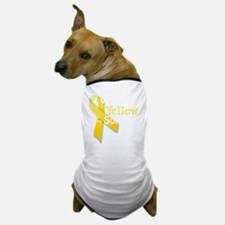 trans_i_wear_yellow_for_my_son_updated Dog T-Shirt