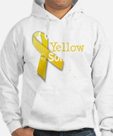 trans_i_wear_yellow_for_my_son_u Hoodie