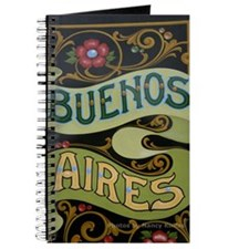 Buenos Aires fileteado Journal