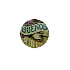 Buenos Aires fileteado Mini Button