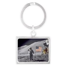 Scotts Lunar Salute Landscape Keychain