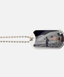 Scotts Lunar Salute Dog Tags