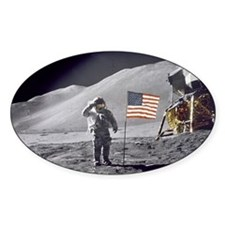 Scotts Lunar Salute Decal