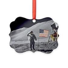 Scotts Lunar Salute Ornament