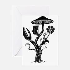 Tree of Life T-Shirt Greeting Card