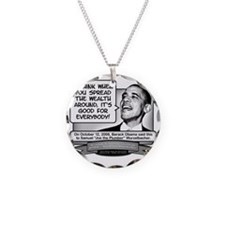 Obama Sez to Spread the Weal Necklace