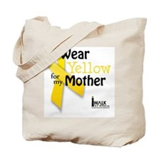 Wear Yellow For Tote Bag