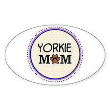Yorkie Dog Mom Decal