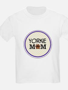 Yorkie Dog Mom T-Shirt