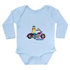 Biker Girl Onesie Romper Suit