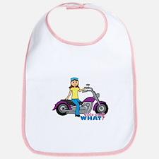 Biker Girl Bib