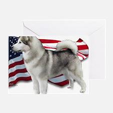 Alaskan Mamalute: American Breed Greeting Card