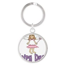 Fairy Princess Round Keychain