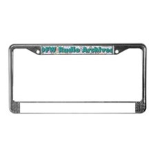 DFW Radio Archives - Bar Logo License Plate Frame