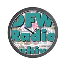 DFW Radio Archives - Square Logo Wall Clock