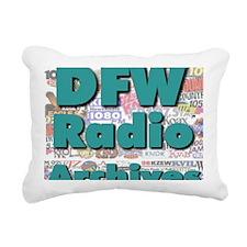 DFW Radio Archives - Squ Rectangular Canvas Pillow
