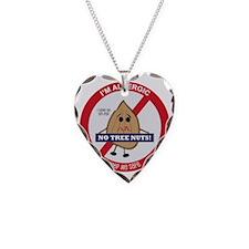 Tree Nut Allergy - Boy Necklace Heart Charm