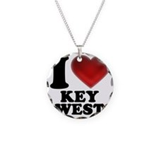 I Heart Key West Necklace