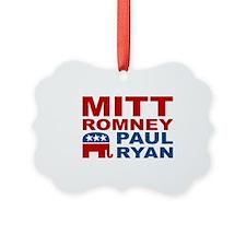 Romney Ryan Election 2012 Ornament