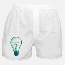 light bulb lamp pixel Boxer Shorts