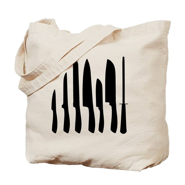 chef knife set tote bag by admin cp14609390. Black Bedroom Furniture Sets. Home Design Ideas