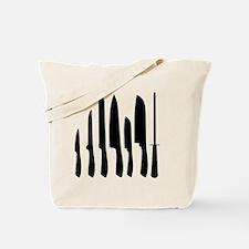 Chef Knife Set Tote Bag