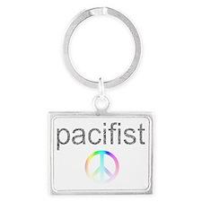 pacifist Landscape Keychain
