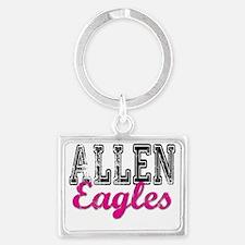 Lady Eagle T Landscape Keychain