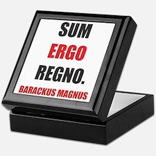 SUM ERGO REGNO (I am therefore I reig Keepsake Box