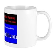 Fight communism – vote Republican (YS) Mug
