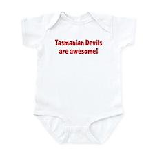 Tasmanian Devils are awesome Infant Bodysuit