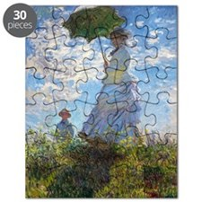 Woman with a Parasol Puzzle