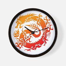 Tr-dragon Wall Clock