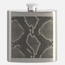 Real Snakeskin Flask