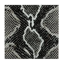Real Snakeskin Tile Coaster