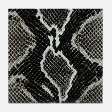 Real Snakeskin Tile Coaster