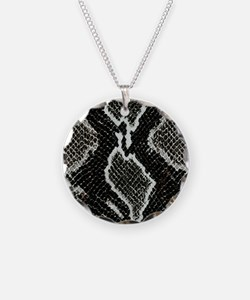Real Snakeskin Necklace