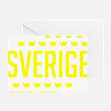 Sveriges kronor Greeting Card