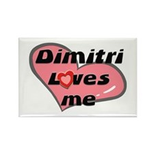 dimitri loves me Rectangle Magnet
